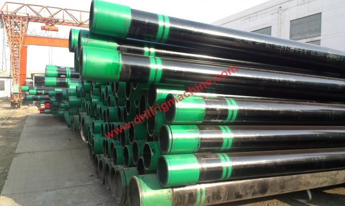 Steel Casing Pipes : Api asme drill pipe casing round m seamless stainless