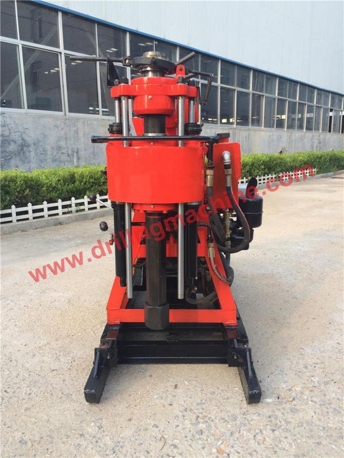 Geotechnical Core Drill Rig Machine 200m - 250m Rotary Rig