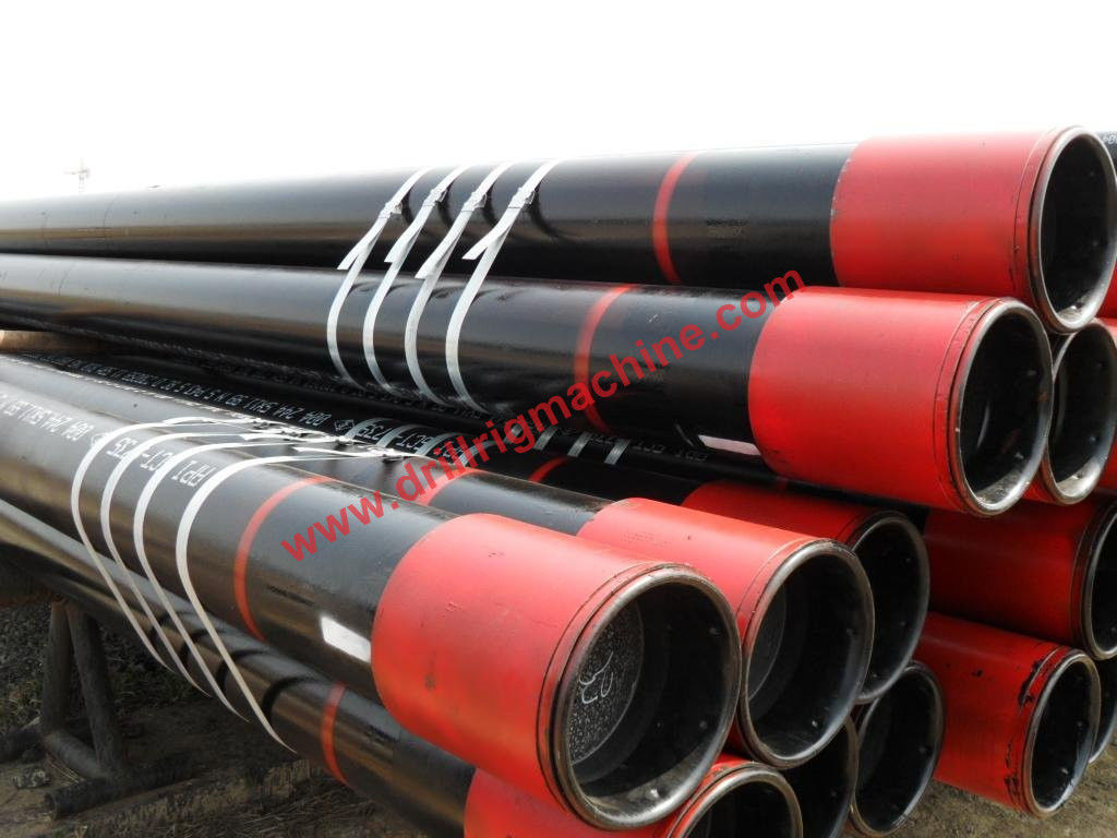 Steel Casing Pipes : Galvanized oiled color paint steel casing pipe water