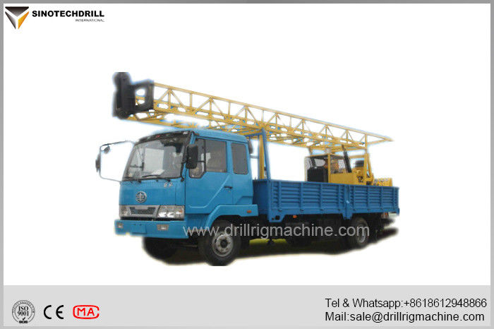 Water Well Drilling Rigs , Borehole Drilling Equipment 3MT